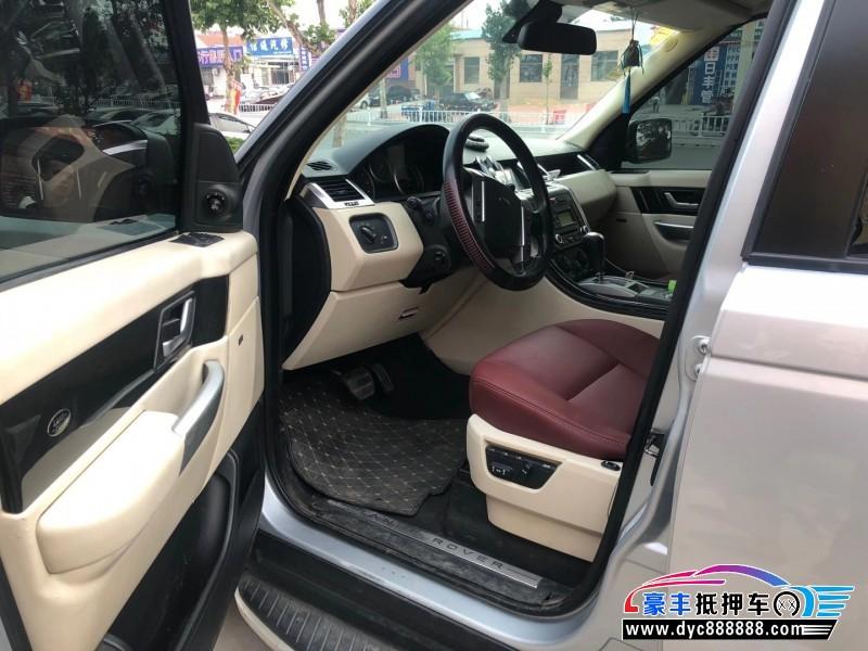 抵押车出售09年路虎揽胜运动SUV