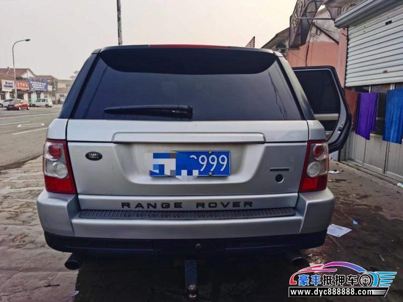 09年路虎揽胜运动SUV抵押车出售