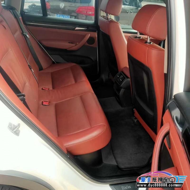 13年宝马X3SUV抵押车出售