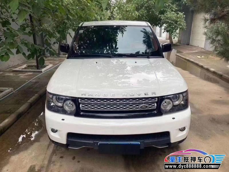 12年路虎揽胜运动SUV抵押车出售