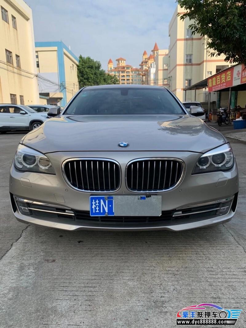 抵押车出售15年宝马7系轿车