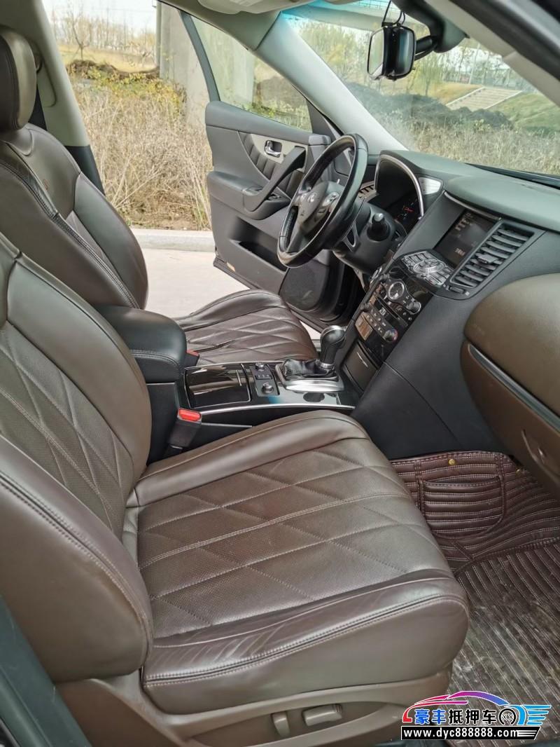 12年英菲尼迪FX35SUV抵押车出售