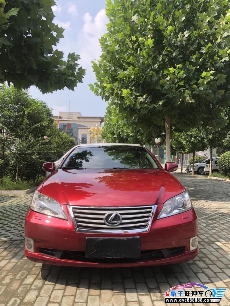 抵押车出售12年雷克萨斯ES轿车