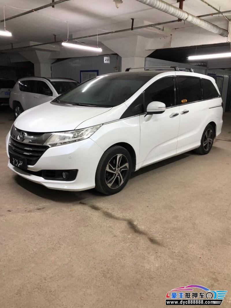 抵押车出售14年本田奥德赛MPV