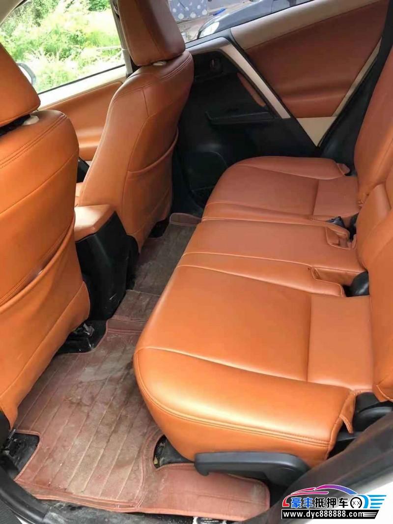 抵押车出售14年丰田RAV4SUV