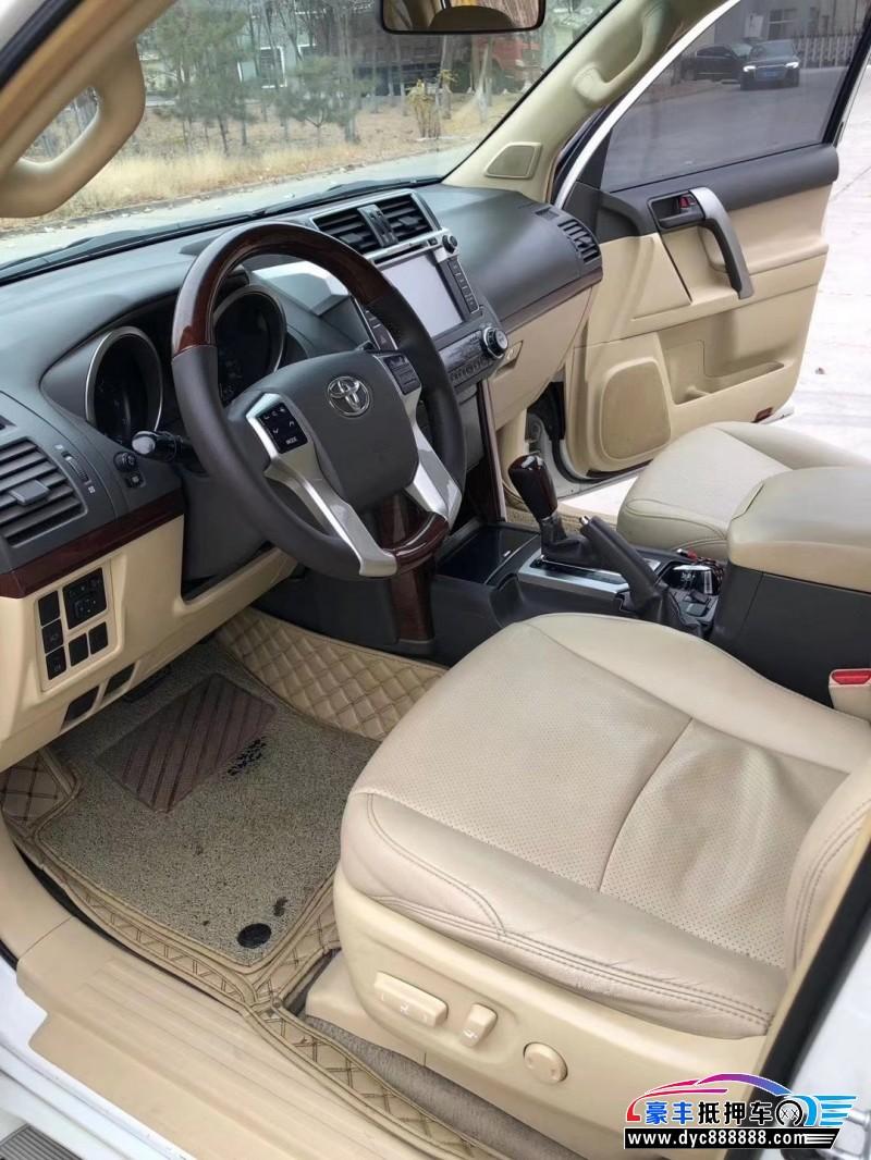 抵押车出售15年丰田普拉多SUV