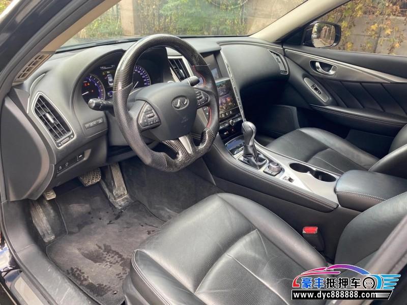 抵押车出售15年英菲尼迪Q50轿车