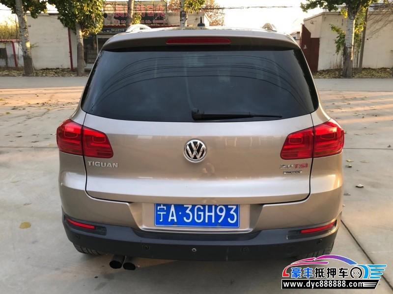 抵押车出售12年大众Tiguan途威SUV