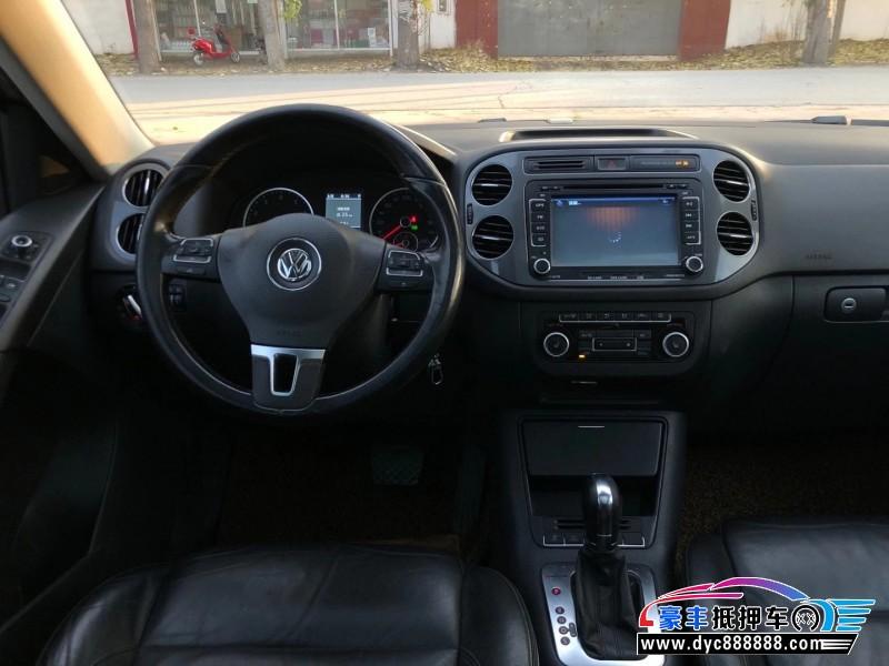 12年大众Tiguan途威SUV抵押车出售