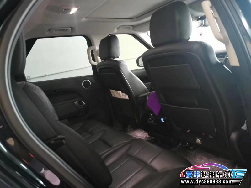 18年路虎发现5SUV抵押车出售