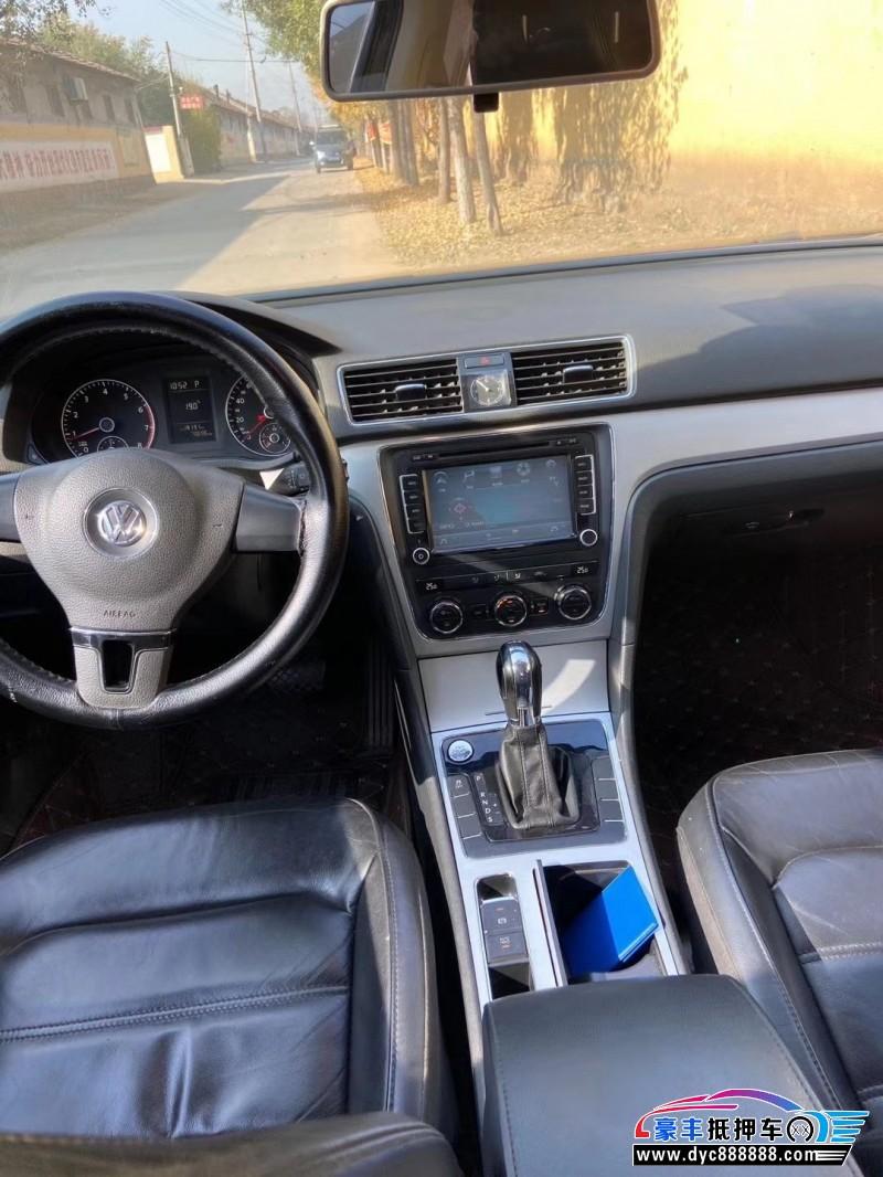 12年大众帕萨特轿车抵押车出售