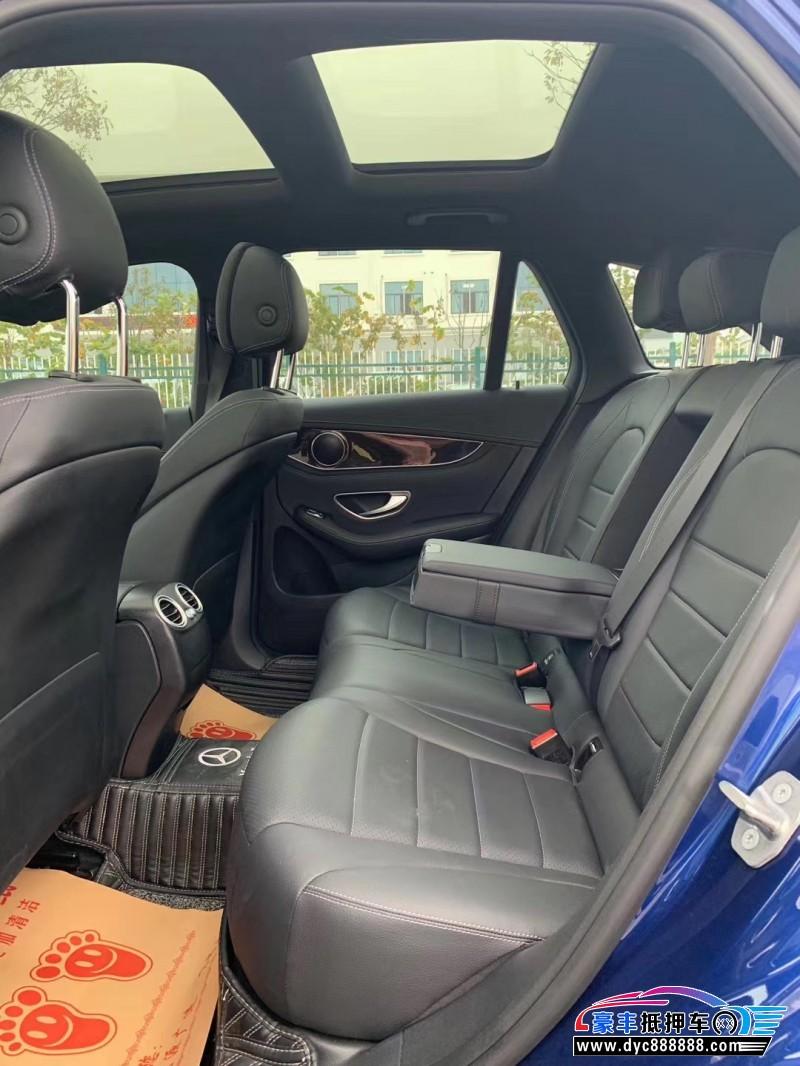 18年奔驰GLC(进口)轿车抵押车出售