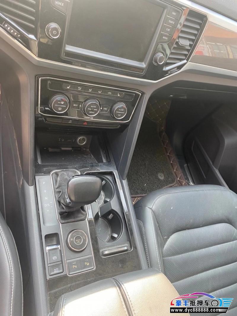 抵押车出售18年大众途昂SUV