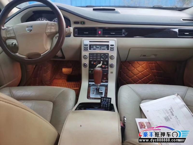 09年沃尔沃S80轿车抵押车出售