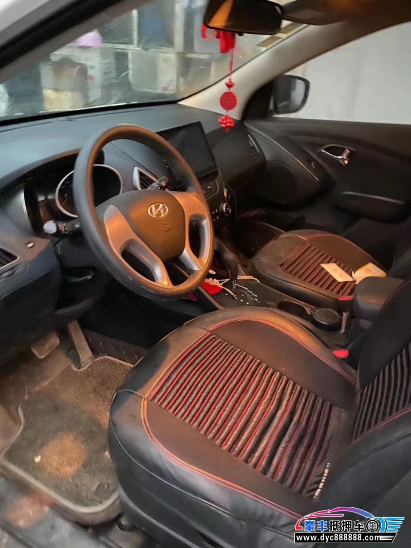 17年现代ix35SUV抵押车出售