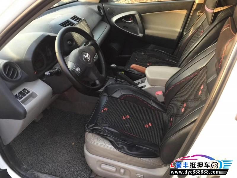 12年丰田RAV4SUV抵押车出售