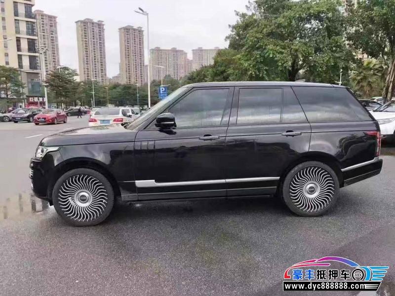 18年路虎揽胜行政SUV抵押车出售