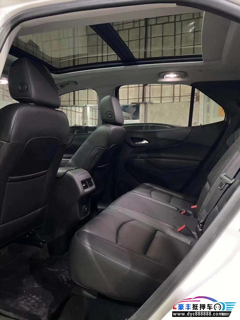 抵押车出售18年雪佛兰探界者SUV