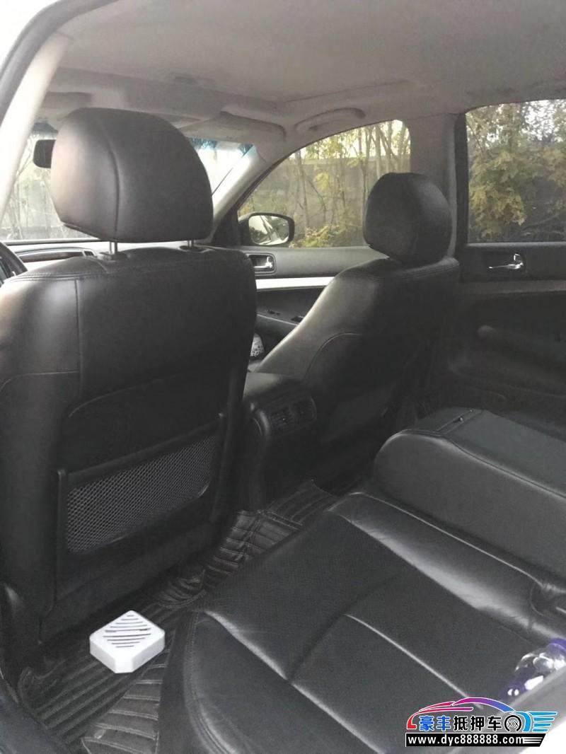 抵押车出售12年英菲尼迪G25轿车