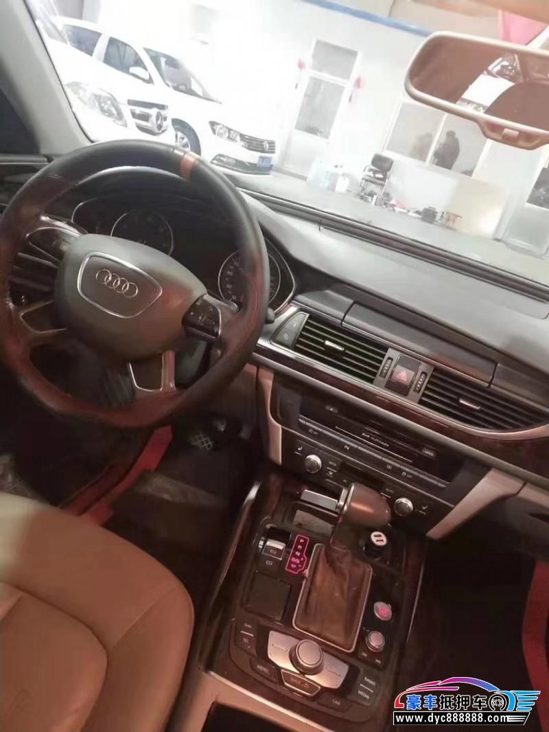 抵押车出售12年奥迪A6L轿车