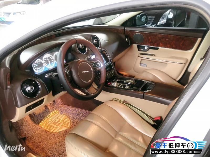 12年捷豹XJL轿车抵押车出售