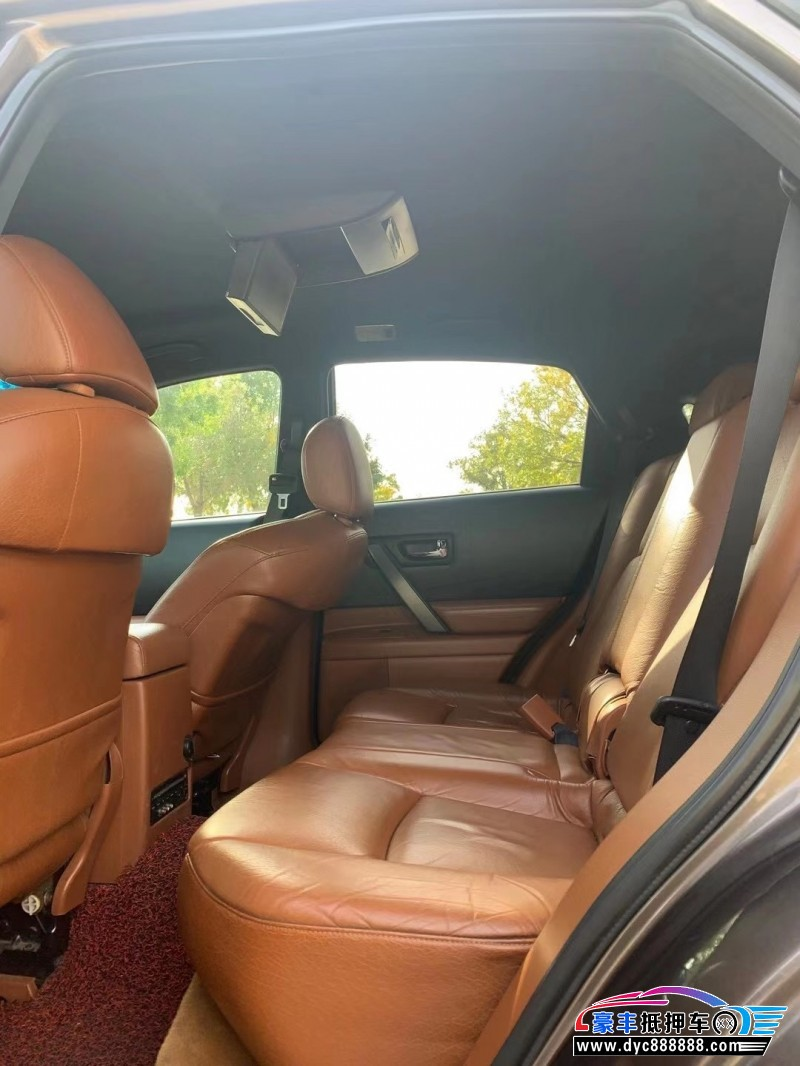 抵押车出售08年英菲尼迪FX35SUV