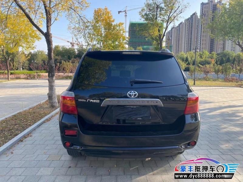 抵押车出售11年丰田汉兰达SUV