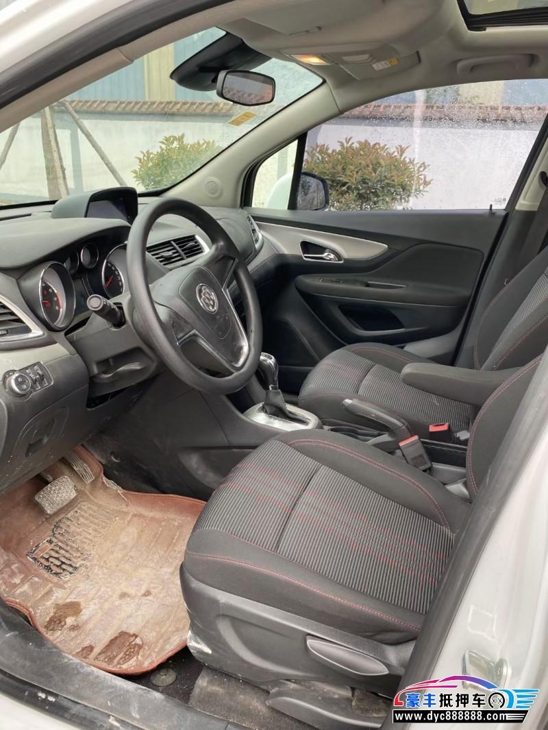 抵押车出售16年别克昂科拉SUV