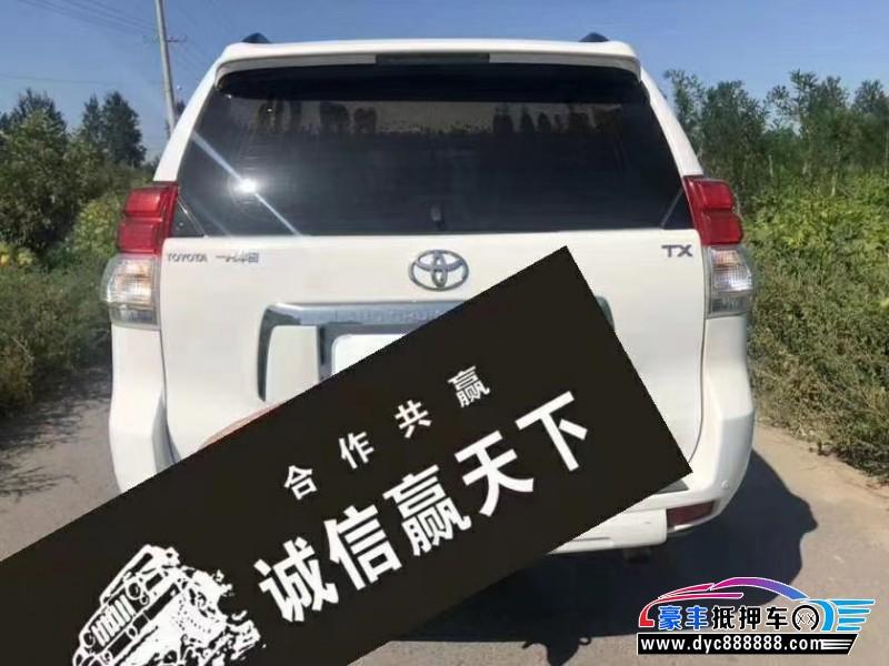 12年丰田普拉多SUV抵押车出售