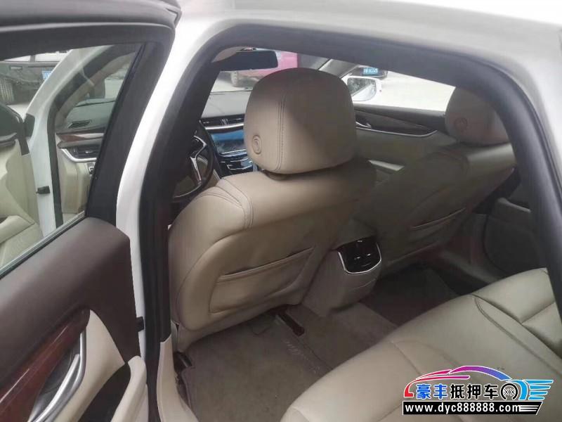 17年凯迪拉克XTS轿车抵押车出售