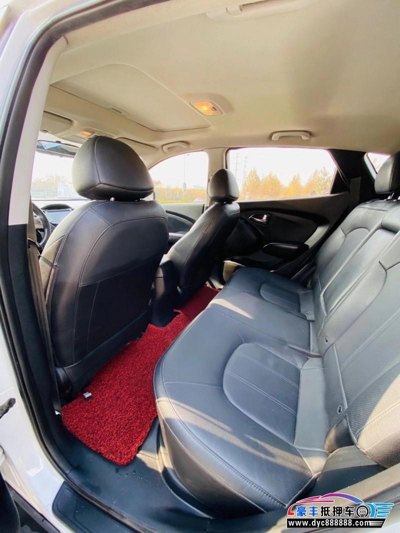 抵押车出售13年现代ix35SUV
