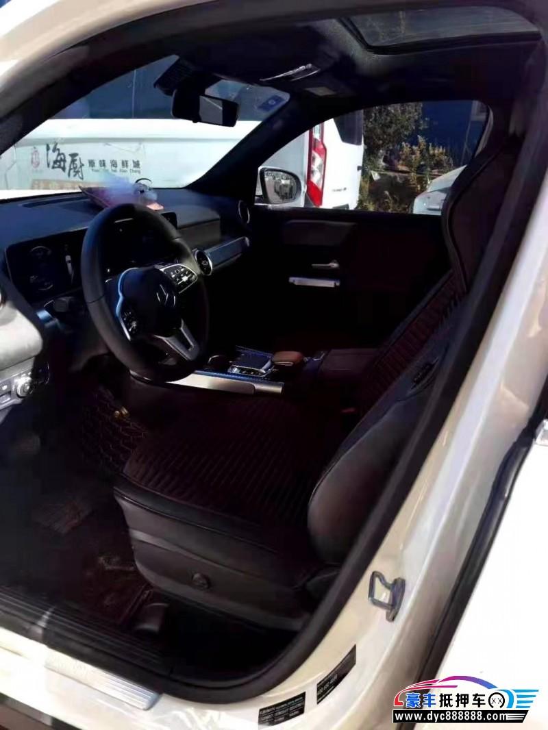 20年奔驰GLBSUV抵押车出售
