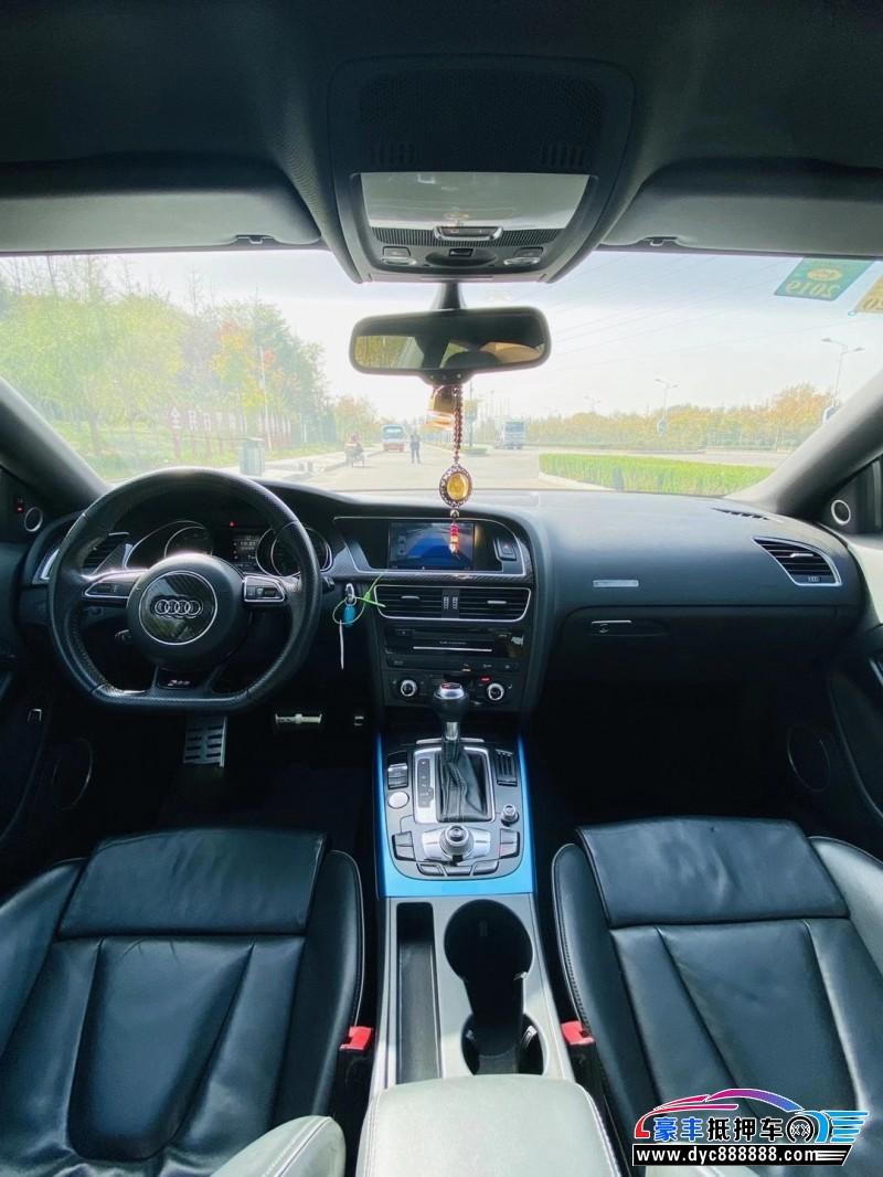 抵押车出售13年奥迪RS5跑车