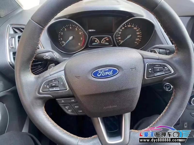17年福特翼虎SUV抵押车出售