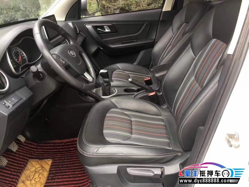 抵押车出售18年奔腾X40SUV
