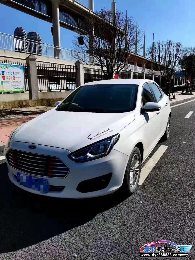 17年福特福睿斯(海外)轿车抵押车出售
