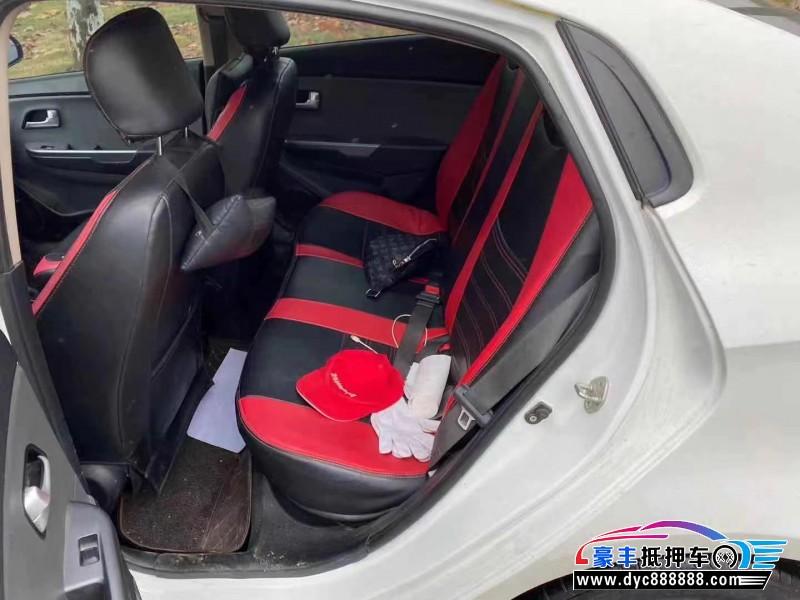 16年起亚K2轿车抵押车出售
