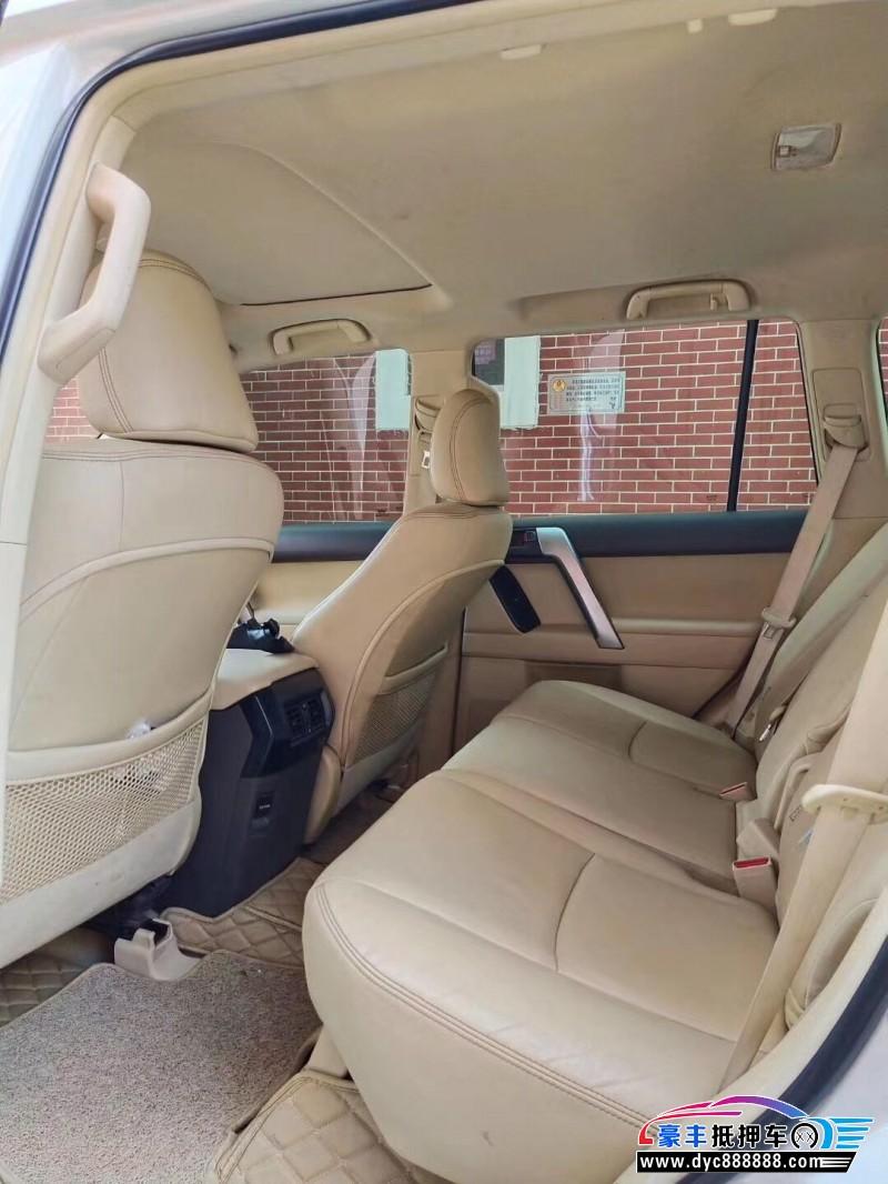 15年丰田普拉多SUV抵押车出售