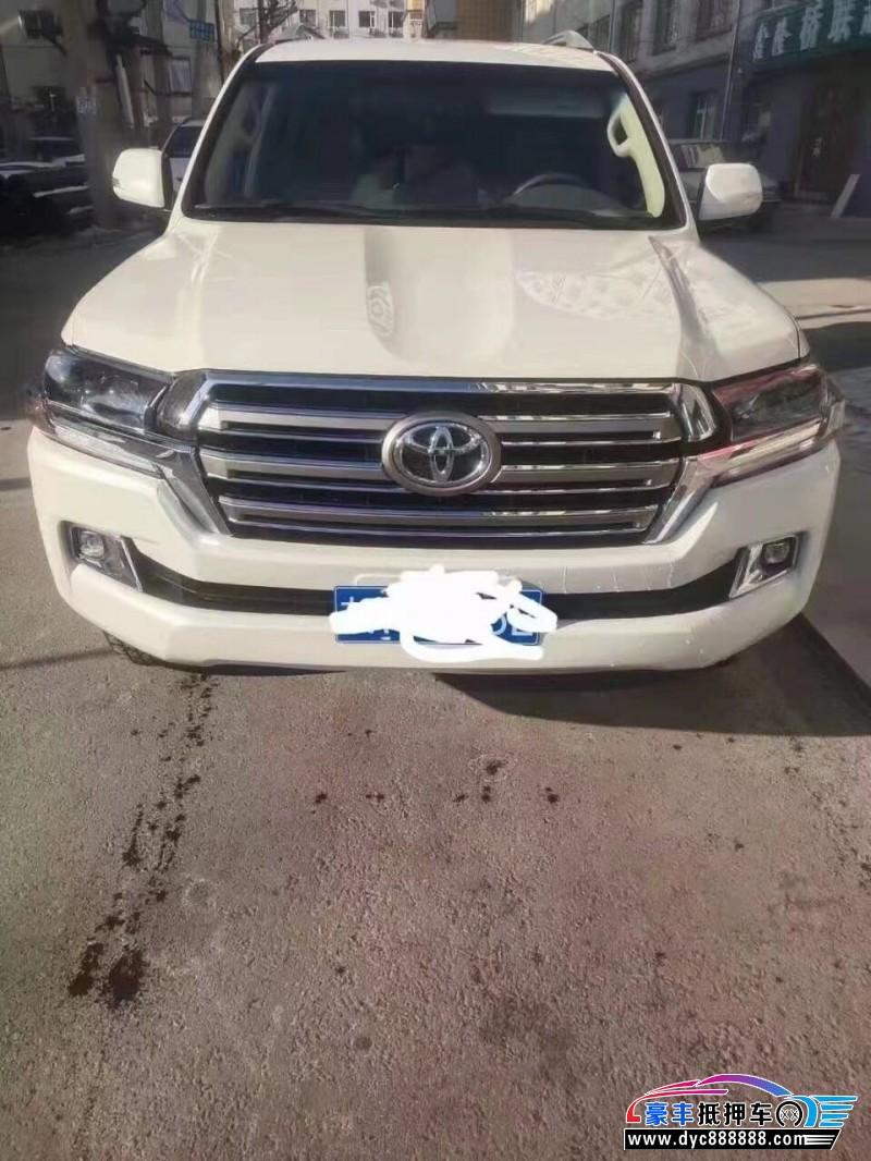 抵押车出售19年丰田兰德酷路泽SUV