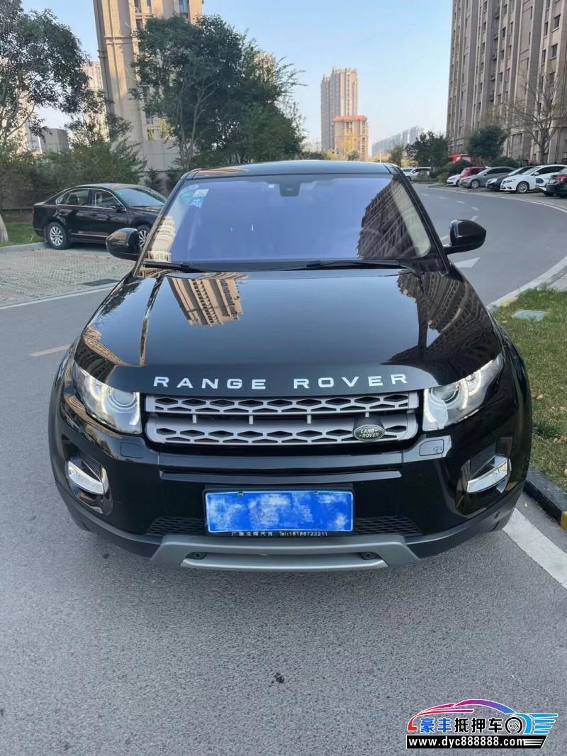16年路虎揽胜极光SUV