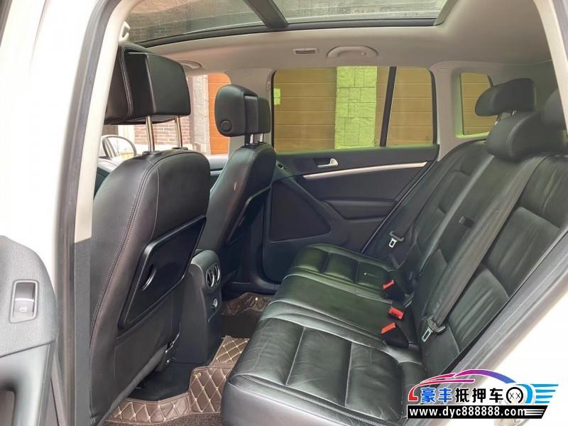 12年大众Tiguan途威SUV