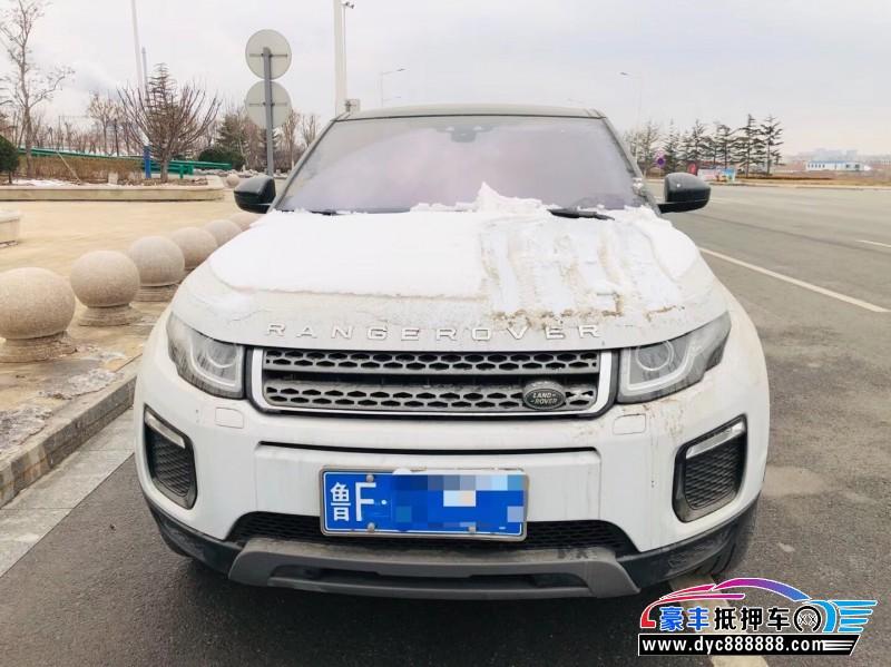抵押车出售18年路虎揽胜极光SUV