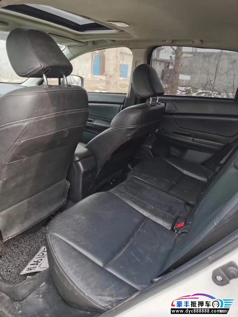 抵押车出售13年斯巴鲁XVSUV