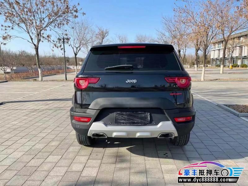 19年北京BJ20SUV抵押车出售