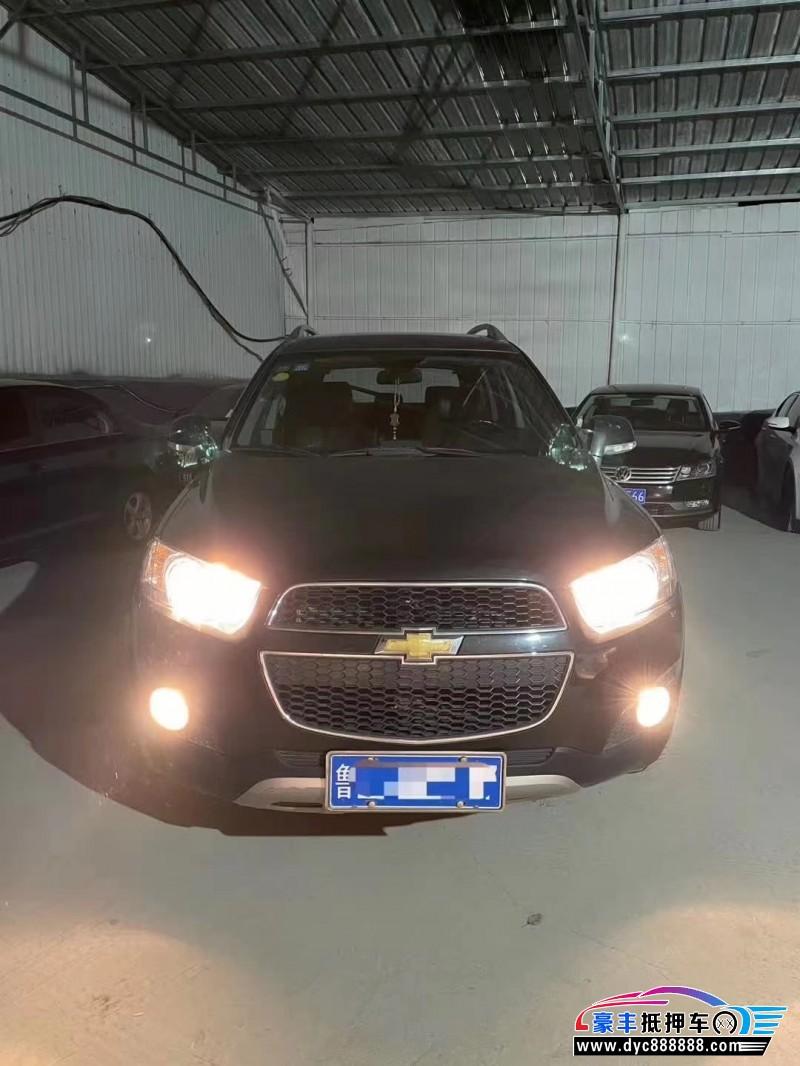 抵押车出售12年雪佛兰科帕奇SUV