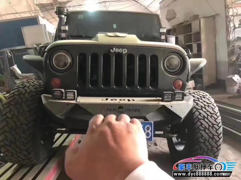 12年Jeep牧马人SUV抵押车出售