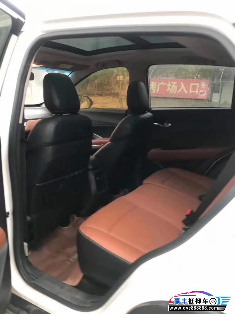 抵押车出售17年宝骏510SUV
