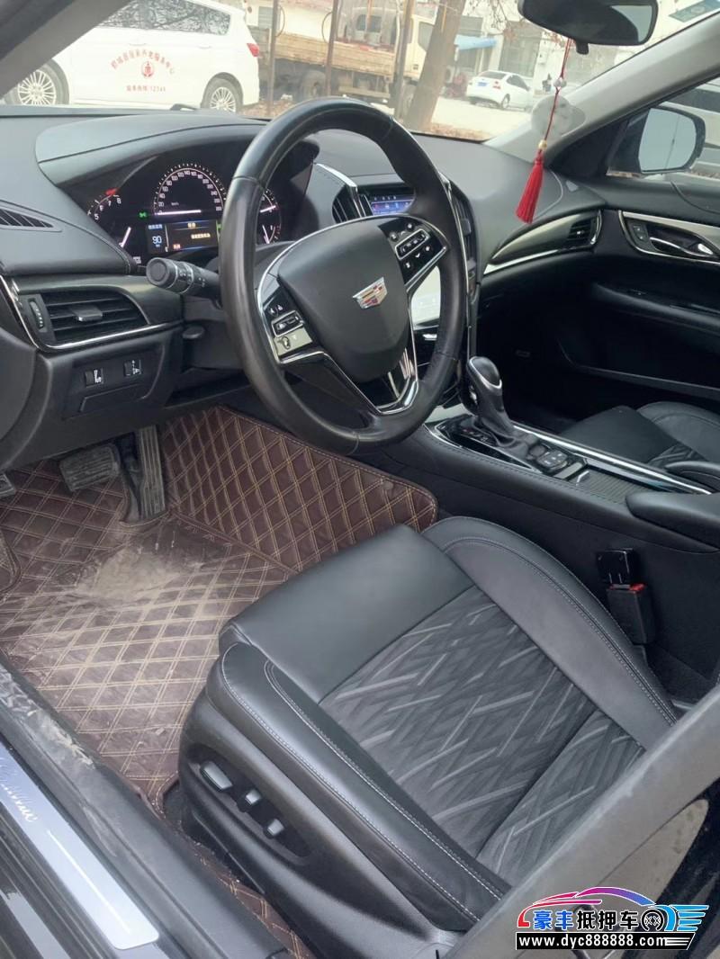 18年凯迪拉克ATS轿车抵押车出售