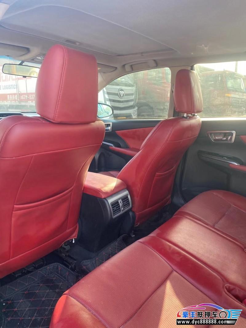14年丰田凯美瑞轿车抵押车出售