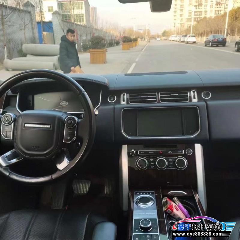 抵押车出售14年路虎揽胜行政SUV
